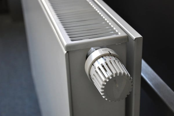 radiator plaatsen